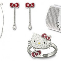 Hello Kitty Swarovski Kollektion Schmuck