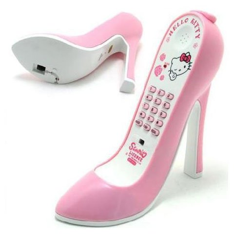 Hello_Kitty_High_Heel_Shoe_Telefon