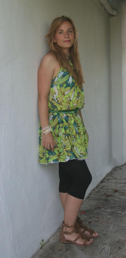 H&M Bananenkleid