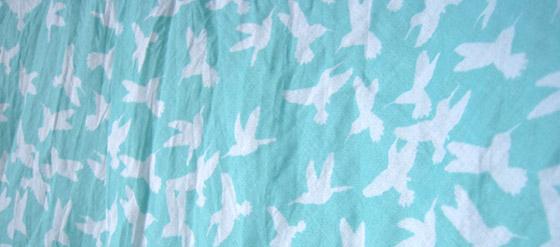 Kolibrimuster meiner Tunika
