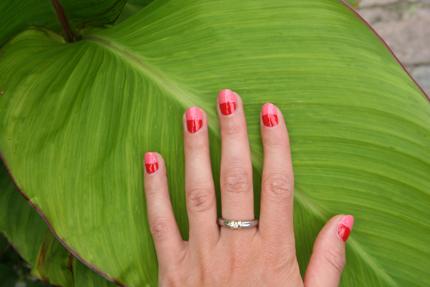 Meine Nägel im Bi-Colour-Style