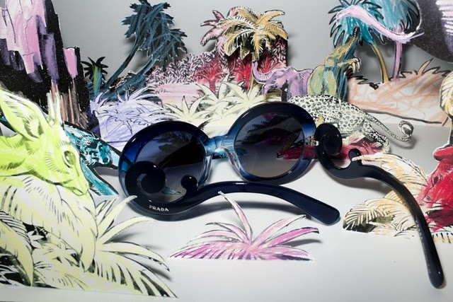 Prada Sonnenbrille blau