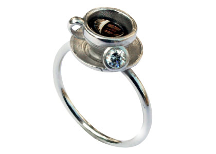 Teetassen Ring von Miss Bibi