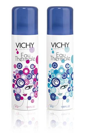 Thermalwasserspray-Sonderedition zum 80-jährigen Jubiläum von Vichy