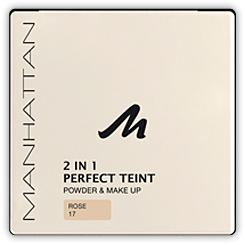 Manhattan Perfect Teint Powder & Make up 2 in 1, Farbe Rose 17