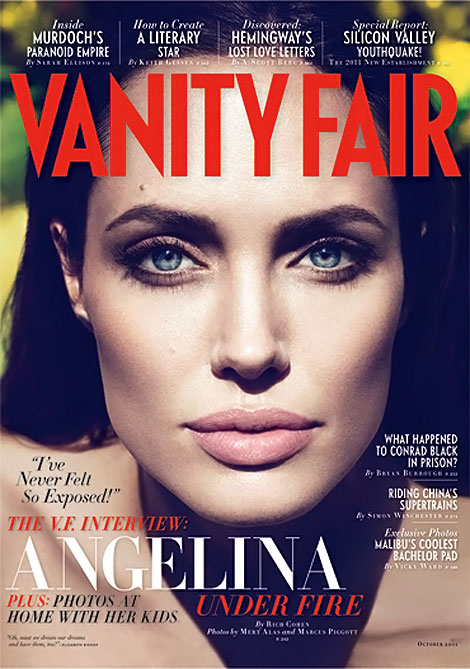 Angelina Jolie Vanity Fair Cover Oktober 2011