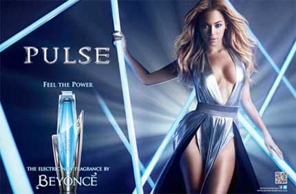 Das Parfum Pulse von Beyonce Werbung