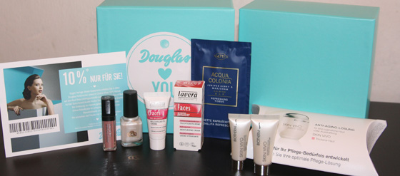 Douglas Box of Beauty August 2011