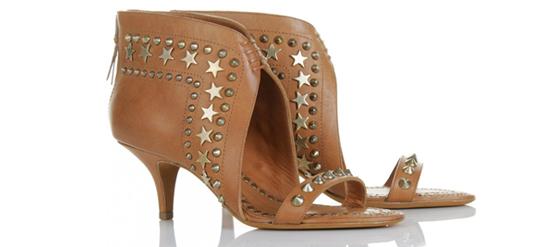 Givenchy Sandalen mit Sternen und Nieten