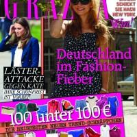 GRAZIA Cover mit Marie