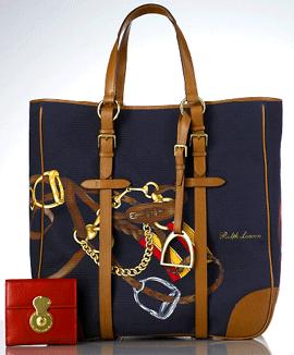 Ralph Lauren Reiter Tasche