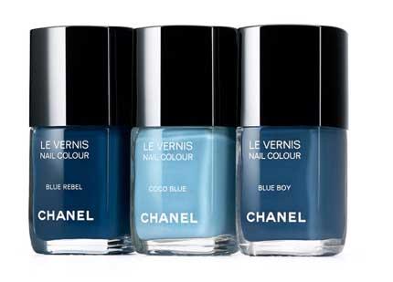 Les Jeans de Chanel Nagellacke Blue Rebel Coco Blue Blue Boy