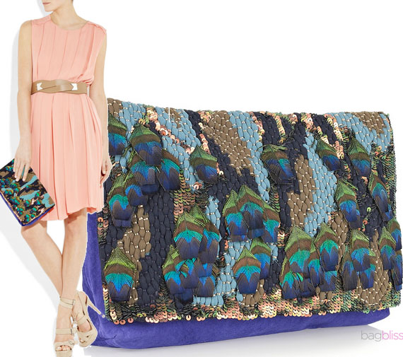 Matthew-Williamson-Peacock-Clutch