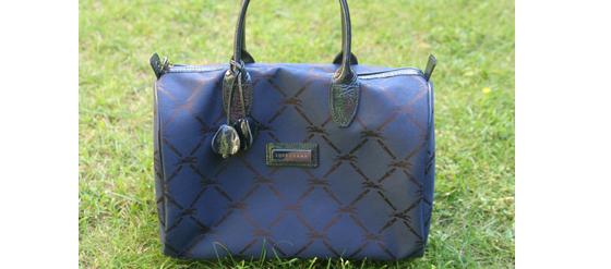 Meine neue dunkelblaue Longchamp Handtasche
