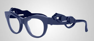 Panther Glasses von Givenchy blau