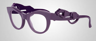 Panther Glasses von Givenchy lila