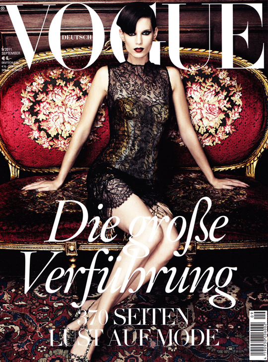Vogue Cover Deutschland September 2011