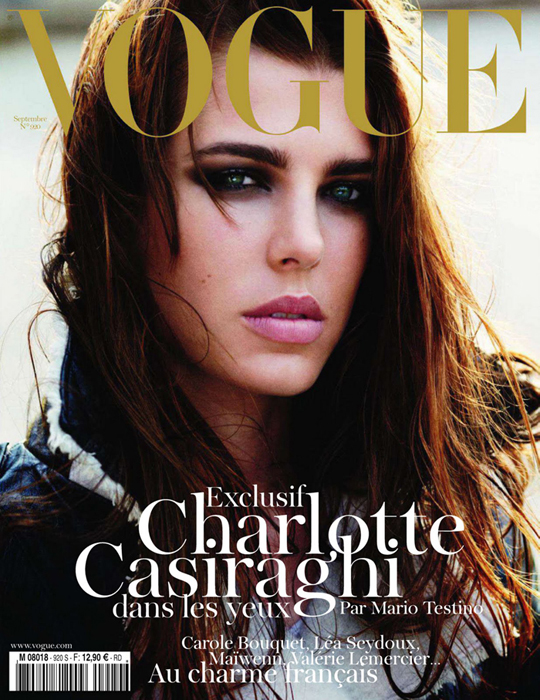 Vogue Frankreich Cover September 2011