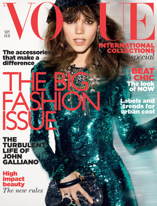 Vogue UK Cover September 2011