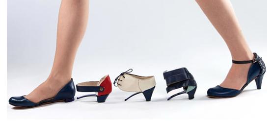 Ze o Ze – der Transformer Schuh von Daniela Bekerman