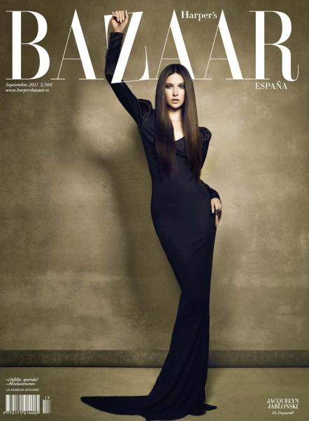 Harpers Bazaar Espana Cover Jacquelyn Jablonski