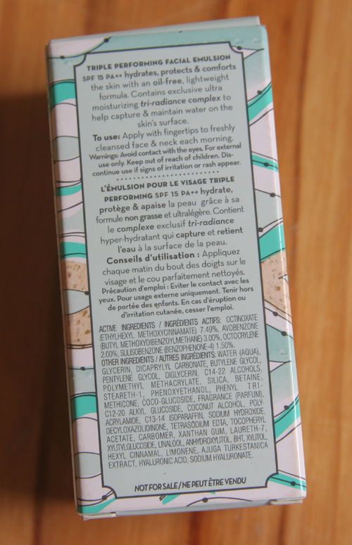 Benefit b.right Skincare Triple Performing Facial Emulsion