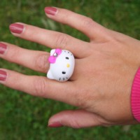 Hello Kitty Automatenring