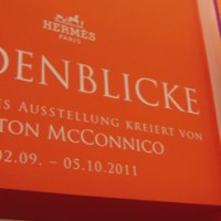 Hermes Ausstellung Seidenblicke KaDeWe