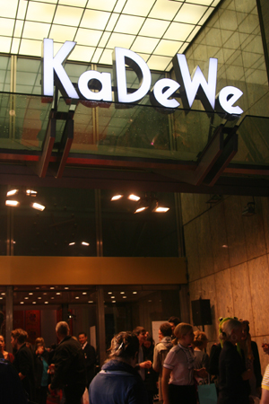 KaDeWe zur Vogue Fashion's Night Out