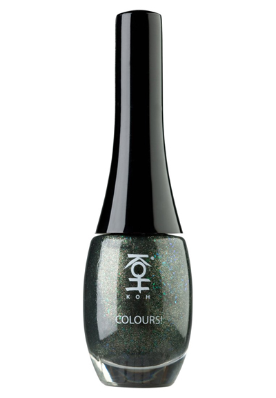 Koh COLOURS Nagellack green stardust