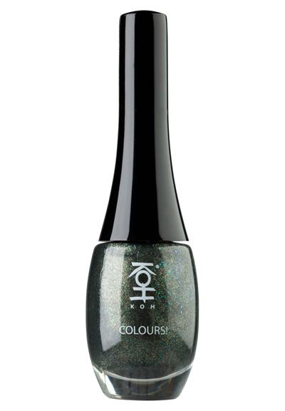 Koh COLOURS Nagellack green stardust