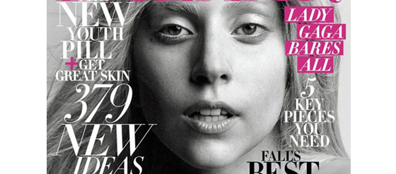 Lady Gaga's Harper's Bazaar Cover Oktober