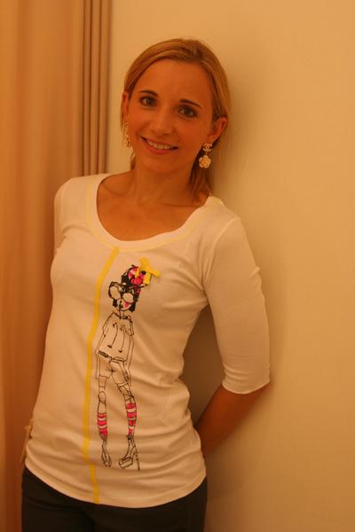 Marc Cain Frauenfußball WM Shirt