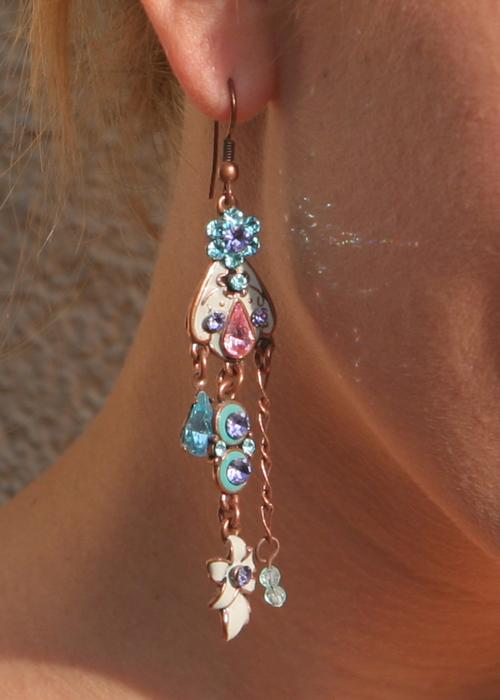 Meine Chandelier Ohrringe 1