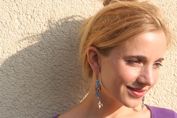Meine Chandelier-Ohrringe 2