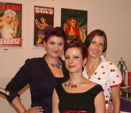 Melissa, Laura und Dagmar