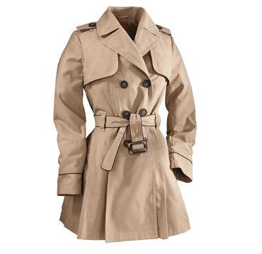 NKD Design Collection Damen Trenchcoat mit Gurtel