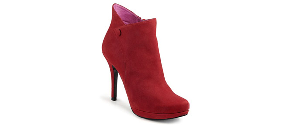 Rote Stiefeletten von Buffalo
