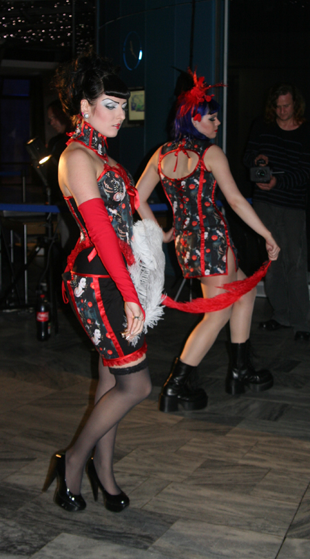 Slacks Fashion Modenschau 13