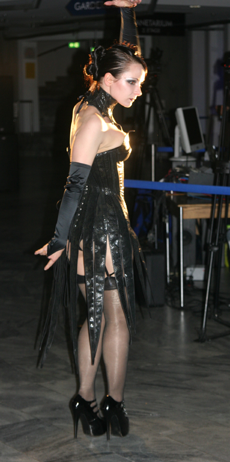 Slacks Fashion Modenschau 16