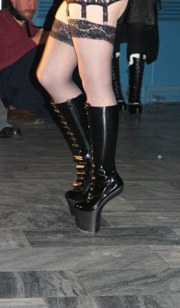 Slacks Fashion Modenschau Schuhe