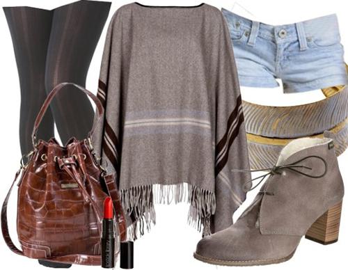 Poncho – stylisch genug für den Herbst?