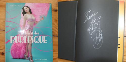 Mein Buch Die Kunst der Burlesque Dita Von Teese Signiert