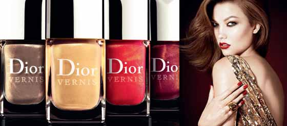 Dior Christmas Collection Les Rouges Or Nagellack