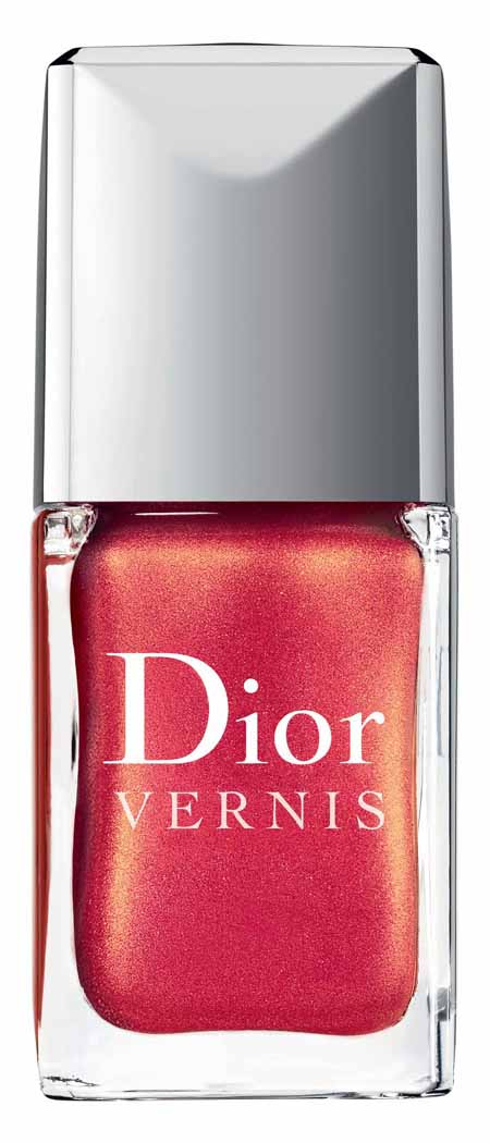 Nagellackfarben der Dior Christmas Collection Les Rouges Or 2