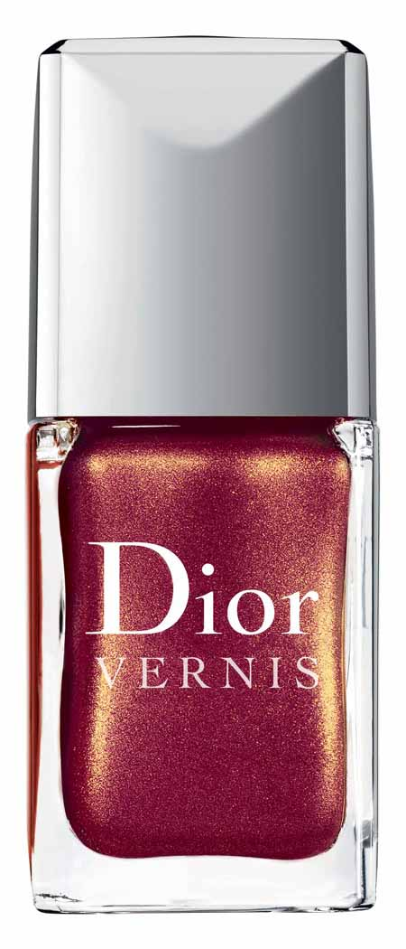 Nagellackfarben der Dior Christmas Collection Les Rouges Or 3