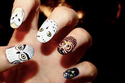 gruselige Halloween Nägel Design Kunst Fingernägel 14
