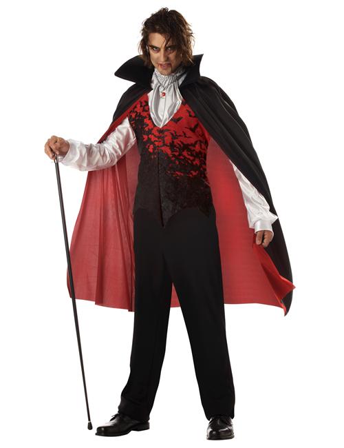 Halloween Kostüm Fürst der Finsternis Vampir