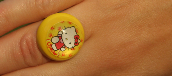 Hello Kitty Ring von Chupa Chups