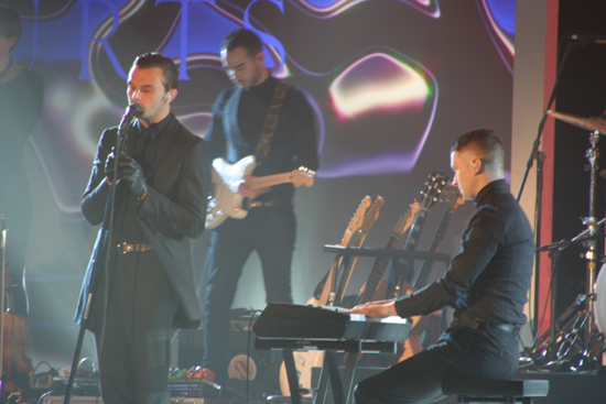 Hurts bei der We Love Energy Fashion Night Berlin Live